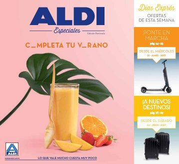 Folleto Aldi hasta 25 de Junio 2017