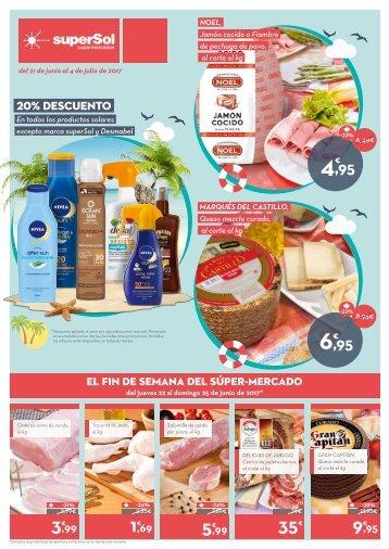 Folleto Supersol Supermercados del 21 de Junio al 4 de Julio 2017