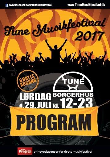Tune Musikfestival 2017