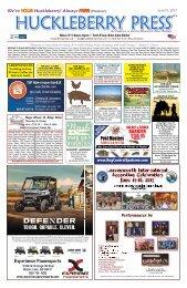 Huckleberry Press June 15 2017