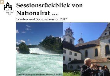lr20170621 23. Sessionsrückblick - Sonder- und Sommersession 2017 vFraktion