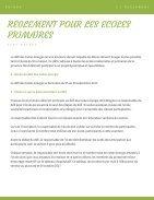 Règlement - Page 2