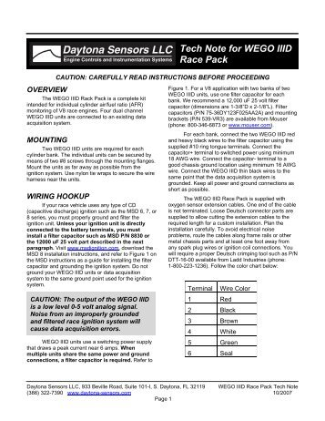 Dyna S Ignition Instructions