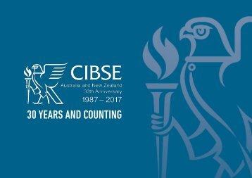 CIBSE Australia and New Zealand 30th Anniversary