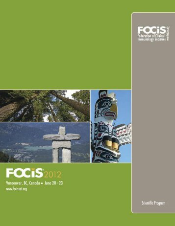 Download the 2012 Scientific Program - Federation of Clinical ...