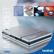 Brother MW-140BT Brochure - Printerbase