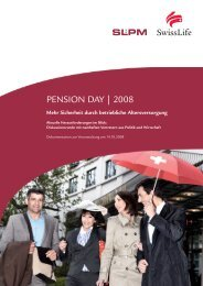 PENSION DAY | 2008 - SLPM