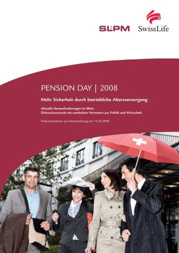 PENSION DAY | 2008 - SLPM