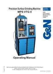 MPS VTG II - Mate Precision Tooling