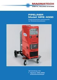 PIPELINER Modell MPS 4000 - Magnatech