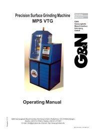 MPS VTG - Mate Precision Tooling