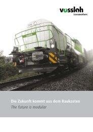Die Zukunft kommt aus dem Baukasten (pdf - Vossloh auf der ...