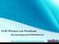 CCIE Wireless Practical Questions