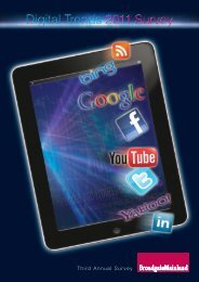 Broadgate Mainland Digital Trends 2011 Survey - Prisa Digital