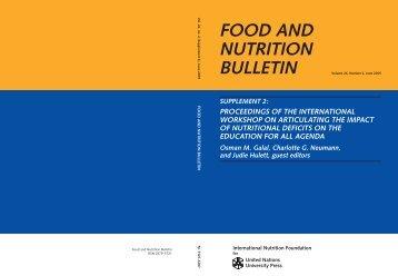 FNB v26 n2 supp2 book v8.indb - International Union of Nutritional ...