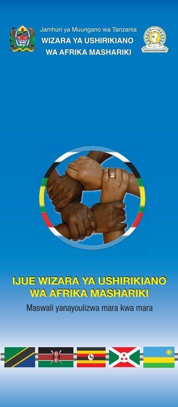 ijue wizara ya ushirikiano wa afrika mashariki
