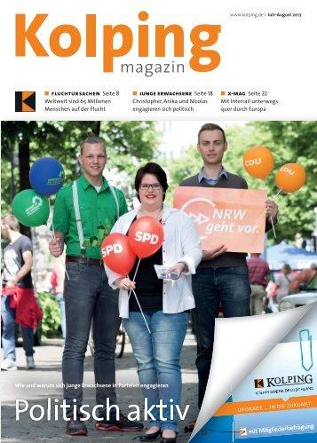 Kolpingmagazin 07-08 2017