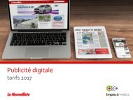 Tarifs digitaux 2017_impact