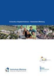 University of Applied Sciences – Hochschule Offenburg