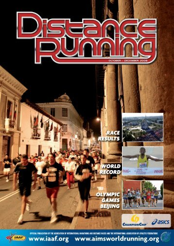 October – December 2008 - Distance Running magazine