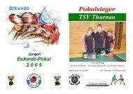 Pokalsieger TSV Thurnau - Tischtennis beim SV Mistelgau