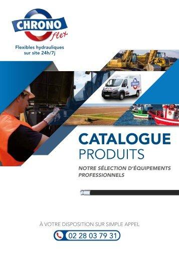Catalogue produits CHRONO Flex 2017
