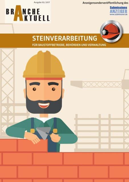 BRANCHE AKTUELL Steinverarbeitung