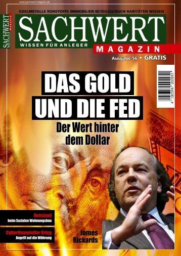 Sachwert Magazin - Ausgabe 56