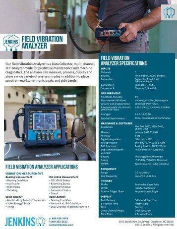 Jenkins-Field-Vibration-Analyzer