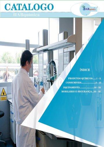 CATALOGO Laboratório  -  HABquímica