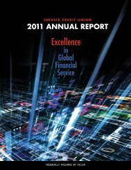 2011 Annual Report - Military - Service Credit Union