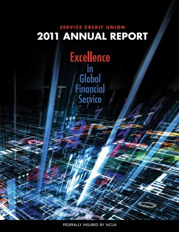 2011 Annual Report - Military - Service Credit Union