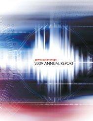 2009 Annual Report - Civilian - Service Credit Union