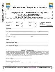 Olympic Day_ Run_Walk Registration Form _2017