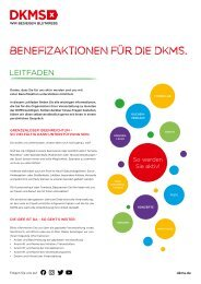 DKMS Benefizleitfaden A4 Print