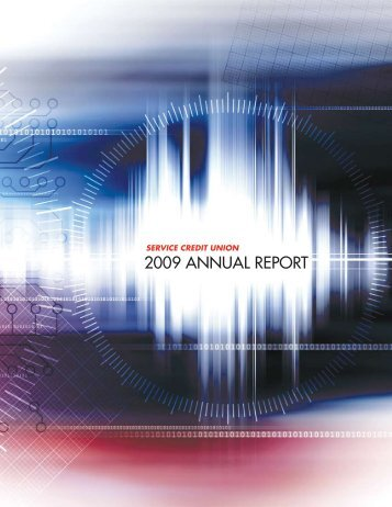 2009 Annual Report - Military - Service Credit Union