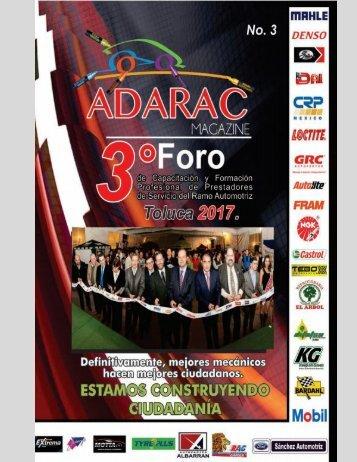 ADARAC Portada revista no. 3, 1