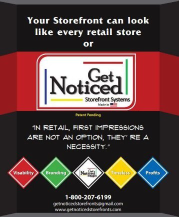 Get Noticed Store Fronts - Rick Martin