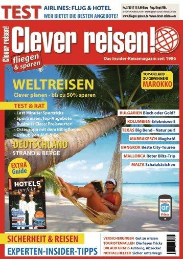 Clever reisen! Ausgabe 3/17