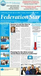 Federation Star - July-August 2017