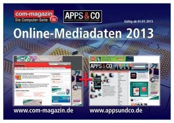 Werbeform - Das Computer Magazin