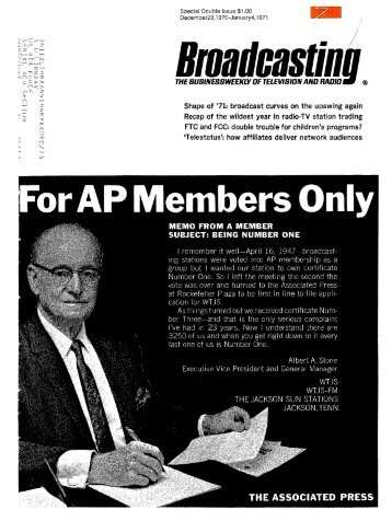 Brnadnastinl - American Radio History
