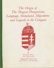 The Origin of The Magyar-Hungarians, Language ... - It works!