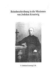 Missionar Jodokus Krautwig - eine religiöse Fmilie