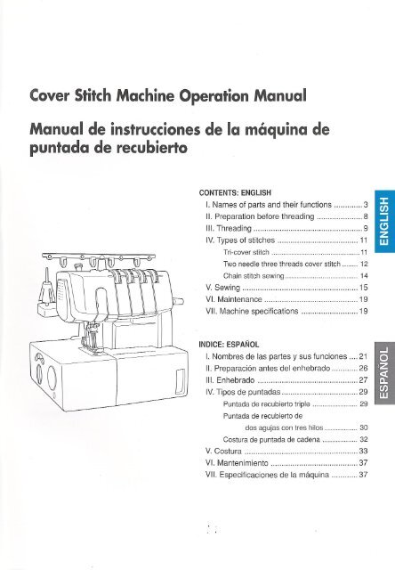 Brother Cover Stitch 2340cv