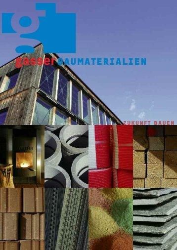 Kompetenzzentrum NATURSTEINE - Gasser Baumaterialien AG