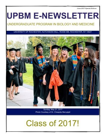 Senior Newsletter - FINAL JUNE 2017