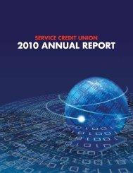 2010 Annual Report - Military - Service Credit Union