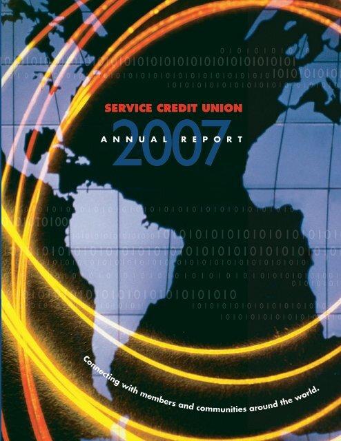 2007 Annual Report Civilian Service Credit Union