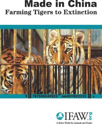 Report 2007 Made in China Farming tiger to
